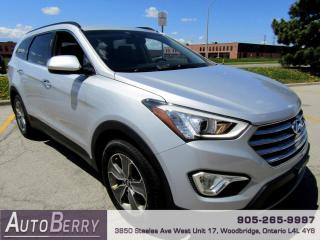 Used 2013 Hyundai Santa Fe GLS FWD XL 7 Passenger Accident Free One Owner! for sale in Woodbridge, ON