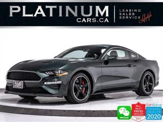 Used 2020 Ford Mustang BULLITT, V8, 480HP, MANUAL, CAM, NAV,HEATED/VENTED for sale in Toronto, ON