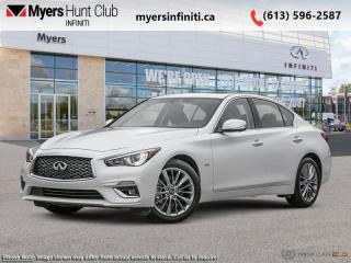 New 2021 Infiniti Q50 LUXE  - Navigation -  Sunroof for sale in Ottawa, ON