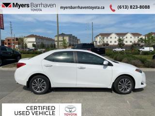 Used 2018 Toyota Corolla XLE Package  - Heated Seats - $128 B/W for sale in Ottawa, ON