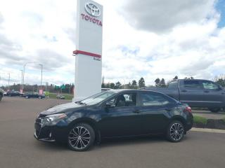 Used 2014 Toyota Corolla S for sale in Moncton, NB