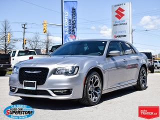 Used 2017 Chrysler 300 S ~Nav ~Camera ~Heated Leather ~ONLY 48,000 KM! for sale in Barrie, ON