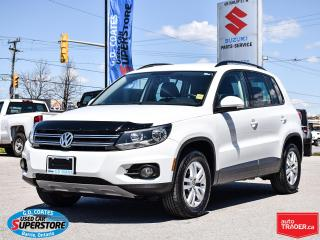 Used 2015 Volkswagen Tiguan Trendline ~Heated Seats ~Bluetooth ~Fog Lamps for sale in Barrie, ON