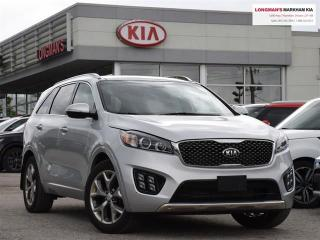 Used 2016 Kia Sorento 3.3L SX for sale in Markham, ON