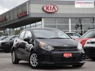 Used 2016 Kia Rio LX+ for sale in Markham, ON
