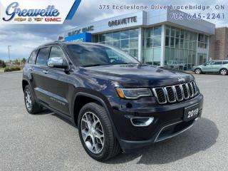 Used 2019 Jeep Grand Cherokee Limited  - Leather Seats for sale in Bracebridge, ON