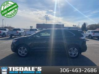 Used 2015 Ford Edge Titanium  - Leather Seats -  Bluetooth for sale in Kindersley, SK