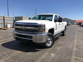 Used 2018 Chevrolet Silverado 2500HD WT CREW 4WD for sale in Cayuga, ON