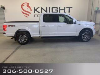 Used 2020 Ford F-150 LARIAT Sport! Low Km's, Local Trade! for sale in Moose Jaw, SK