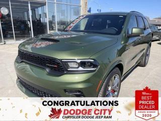 New 2021 Dodge Durango R/T- AWD,V8, Nav, Remote Start, Leather for sale in Saskatoon, SK