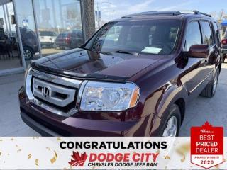 Used 2011 Honda Pilot EX-L w/RES- 4WD, DVD, Heated Seats, B/U Camera for sale in Saskatoon, SK