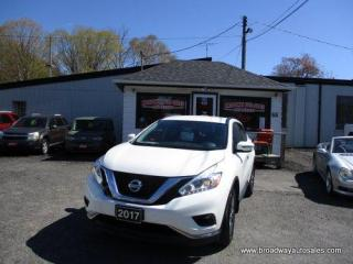 Used 2017 Nissan Murano POWER EQUIPPED SV EDITION 5 PASSENGER 3.5L - V6.. HEATED SEATS.. NAVIGATION.. BLUETOOTH SYSTEM.. BACK-UP CAMERA.. KEYLESS ENTRY.. for sale in Bradford, ON