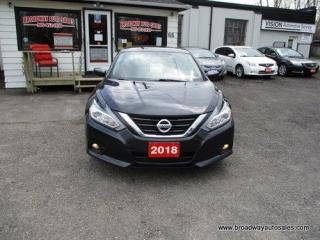Used 2018 Nissan Altima LIKE NEW SV EDITION 5 PASSENGER 2.5L - DOHC.. HEATED SEATS.. BACK-UP CAMERA.. BLUETOOTH SYSTEM.. POWER SUNROOF.. KEYLESS ENTRY.. for sale in Bradford, ON
