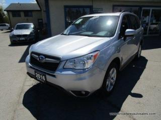 Used 2016 Subaru Forester ALL-WHEEL DRIVE LIMITED EDITION 5 PASSENGER 2.5L - SOHC.. HEATED SEATS.. POWER SUNROOF.. BACK-UP CAMERA.. BLUETOOTH SYSTEM.. X-MODE-PACKAGE.. for sale in Bradford, ON