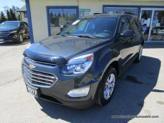 Used 2017 Chevrolet Equinox LIKE NEW LT EDITION 5 PASSENGER 2.4L - ECO-TEC.. ECO-MODE-PACKAGE.. HEATED SEATS.. BACK-UP CAMERA.. BLUETOOTH SYSTEM.. KEYLESS ENTRY.. for sale in Bradford, ON