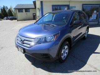 Used 2014 Honda CR-V ALL-WHEEL DRIVE LX EDITION 5 PASSENGER 2.4L - DOHC.. ECON-MODE-PACKAGE.. HEATED SEATS.. BACK-UP CAMERA.. BLUETOOTH SYSTEM.. KEYLESS ENTRY.. for sale in Bradford, ON