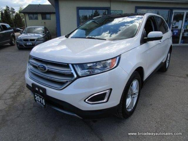 2016 Ford Edge ALL-WHEEL DRIVE SEL MODEL 5 PASSENGER 3.5L - V6.. NAVIGATION.. LEATHER.. HEATED SEATS.. PANORAMIC SUNROOF.. BACK-UP CAMERA.. BLUETOOTH SYSTEM..
