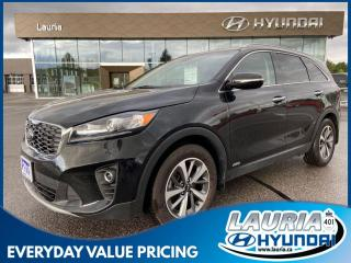 Used 2019 Kia Sorento EX V6 AWD 7-Passenger - LOW KMS for sale in Port Hope, ON