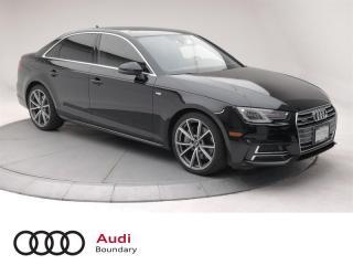 Used 2017 Audi A4 2.0T Progressiv quattro 7sp S tronic for sale in Burnaby, BC