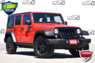 Used 2016 Jeep Wrangler Unlimited Sport WILLYS | 4X4 | PREMIUM AUDIO for sale in Kitchener, ON