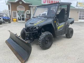 Used 2019 Yamaha WOLVERINE X2 EPS WITH ELECTRIC PLOW for sale in Tilbury, ON