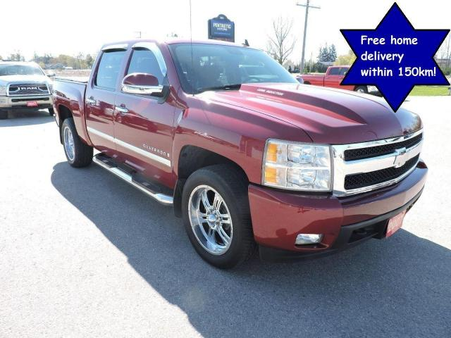 2007 Chevrolet Silverado 1500 LTZ Well oiled and zero rust Only 119000 km's