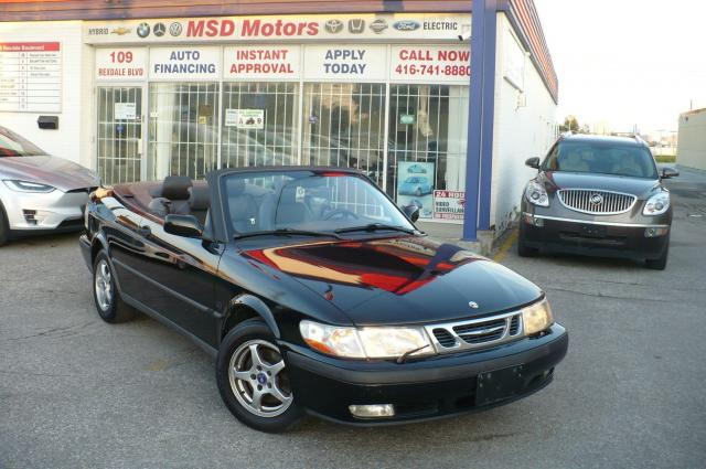 2001 Saab 9-3 LEATHER/ALLOY--CONVERTIBLE
