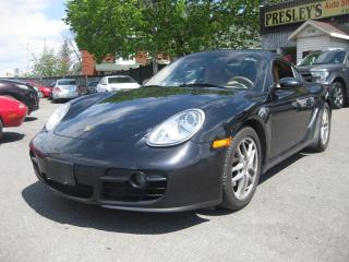 Used 2008 Porsche Cayman Coupe 6cyl AC PL PM PW Cruise **Coming soon** for sale in Ottawa, ON