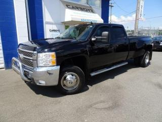 Used 2007 Chevrolet Silverado 3500 LTZ 4x4 Crew Dually, Diesel, Deleted, Nav, Leather for sale in Langley, BC
