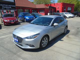 Used 2018 Mazda MAZDA3 GX / NO ACCIDENT / REVERSE CAM / SPORT/ CERTIFIIED for sale in Scarborough, ON