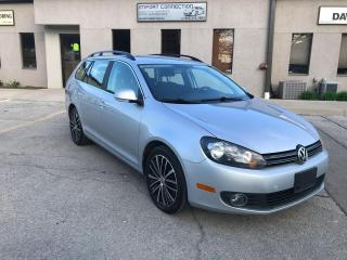 Used 2014 Volkswagen Golf Wagon 4dr TDI DSG Comfortline,NO ACCIDENTS,LOW MILEAGE!! for sale in Burlington, ON