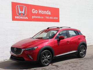 Used 2017 Mazda CX-3 GT, LEATHER, SUNROOF for sale in Edmonton, AB