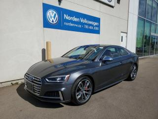 Used 2018 Audi S5 Coupe TECHNIK S LINE - 354 HP! LOADED EVERY OPTION - RARE COLOR COMBO! for sale in Edmonton, AB