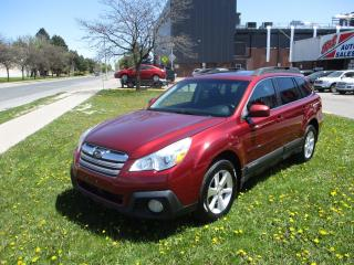 Used 2014 Subaru Outback 2.5i w/Limited & EyeSight Pkg ~ LEATHER ~ NAV for sale in Toronto, ON