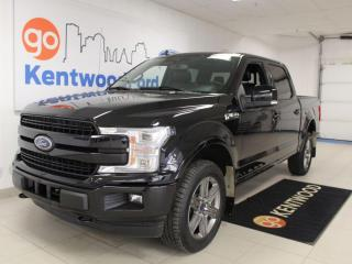 Used 2020 Ford F-150 LARIAT | 502a | Sunroof | Power Boards | Heated/Cooled Leather for sale in Edmonton, AB