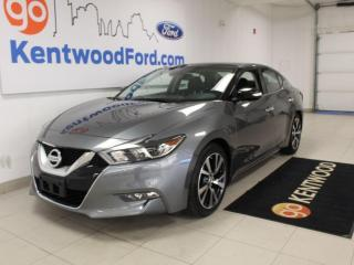 Used 2016 Nissan Maxima Platinum | Heated/Cooled Leather | Nav | Sunroof | No Accidents for sale in Edmonton, AB