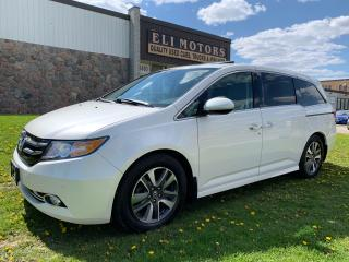 Used 2014 Honda Odyssey TOURING NAVI TV-DVD REAR VIEW CAM LDW BMS for sale in North York, ON