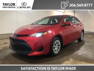 Used 2017 Toyota Corolla LE for sale in Regina, SK