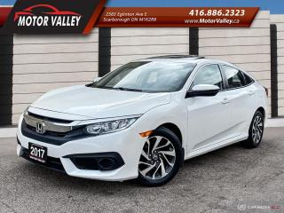 Used 2017 Honda Civic EX only 089,598KM 1-Owner Sunroof / Camera - Clean for sale in Scarborough, ON