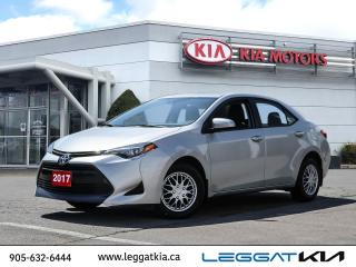 Used 2017 Toyota Corolla CE MANUAL / LANE KEEP/FORWARD COLLUSION/RADAR CRUISE/POWER PACKAGE for sale in Burlington, ON