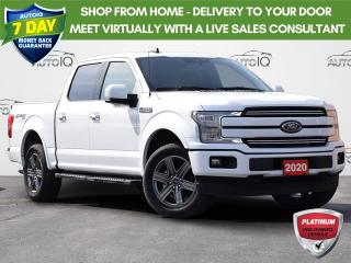 Used 2020 Ford F-150 Lariat 4WD 2.7L V6 ECOBOOST   MAGNETIC RUNNING BOARDS   ADJUSTABLE PEDALS   CLASS IV TRAILER HITCH RECEIVER for sale in Waterloo, ON