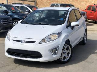 Used 2012 Ford Fiesta SES LEATHER, HEATED FRONT SEATS, CRUISE CONTROL, BLUETOOTH, SUNROOF & MUCH MORE for sale in Saskatoon, SK