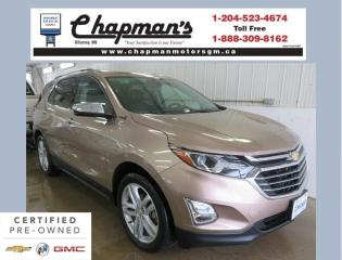 Used 2018 Chevrolet Equinox Premier Remote Start, Heated Front & Back Seats, Bose Speaker System for sale in Killarney, MB