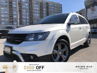Used 2017 Dodge Journey Crossroad No Accidents, Sunroof, 8.4 inch Touchscreen with UConnect, Engine Start/Stop Button for sale in North York, ON