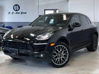 Used 2015 Porsche Macan S NAV|BACK UP|BSM|PANO ROOF|ACCIDENT FREE| for sale in Oakville, ON