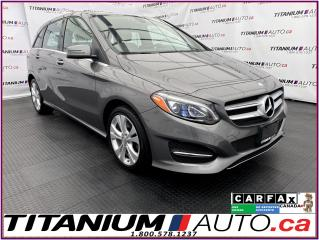 Used 2017 Mercedes-Benz B-Class 4Matic+GPS+Camera+Pano Roof+Blind Spot+Apple Play for sale in London, ON