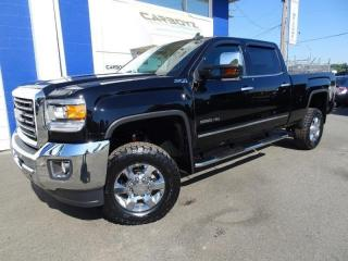 Used 2017 GMC Sierra 3500 SLT Z71 4x4, 6.0L Leather, Sunroof, LIFT, Low Kms for sale in Langley, BC