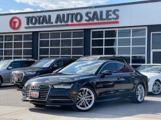 Used 2016 Audi A7 S-LINE | TECHNIK | ONE OWNER | AUDI SERVICED for sale in North York, ON