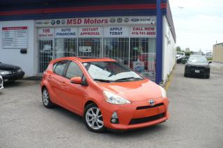 Used 2012 Toyota Prius c TECHNOLOGY PACKAGE/LEATHER/ROOF/NAVI for sale in Toronto, ON