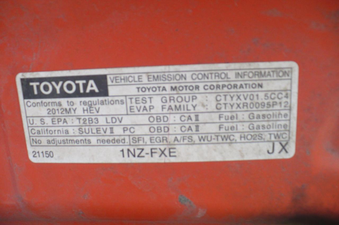 2012 Toyota Prius c
